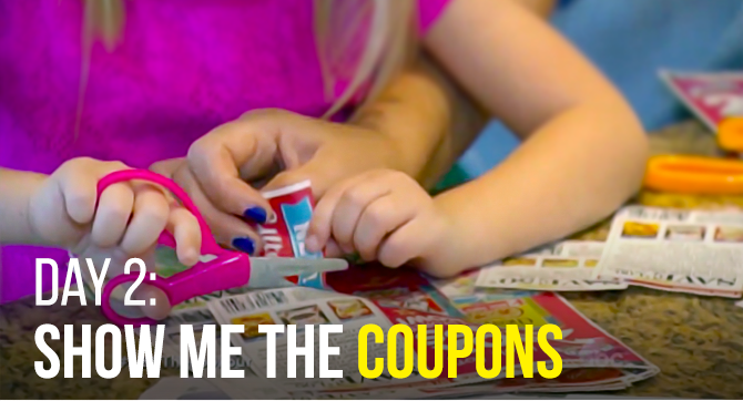 Day 2: Show Me the Coupons