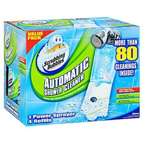 Scrubbing Bubbles Automatic Shower Cleaner $0.99 at Target
