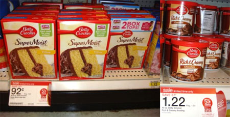 Coupon For Cake Mix And Frosting