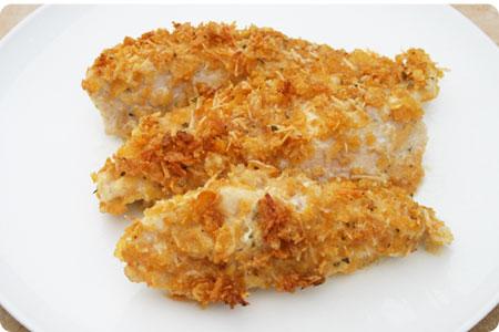 Breaded Parmesan Ranch Chicken