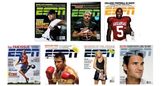 HOT! ESPN Magazine for Only $4.99 per Year!