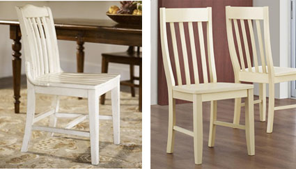 Pottery Barnu0027s antique white Stella Chair at $179 a piece is the perfect match for the & pottery barn stella chair u2013 Loris Decoration