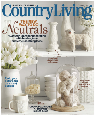 Country Living Magazine, Only $5.99 per Year!