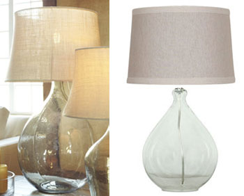 The Clift Seeded Glass Table Lamp From Pottery Barn Is $349 Plus $34.90 For  Shipping, Making It $383.90 Total. Target.com Offers A Nice Alternative In  The ...