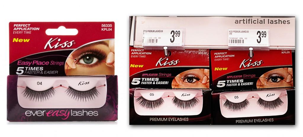Kiss eyelash coupons