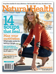 Natural Health Magazine, Only $4.99 per Year!