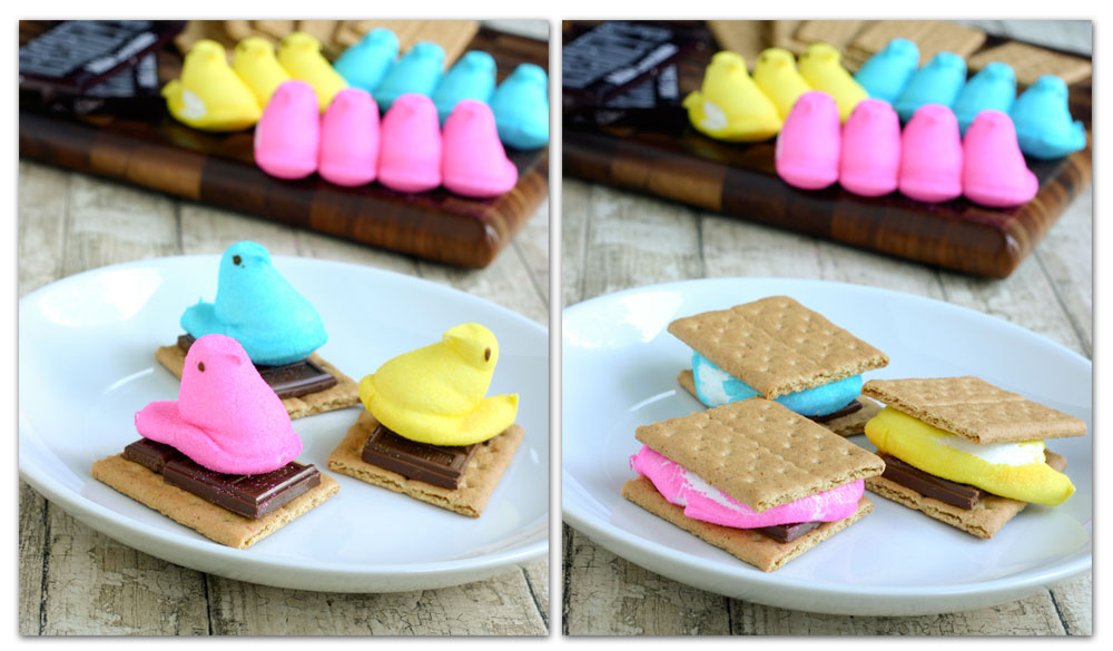 easter pie treats peeps s mores the peeps s mores for easter