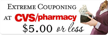 CVS Extreme Couponing (Week of 8/11): $5.00 or Less