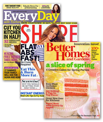 4 Magazine Subscriptions, Only $15.99! Choose from Shape, ESPN, Glamour & More!
