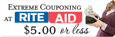Rite Aid Extreme Couponing (week of 5/27): $5.00 or Less