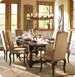 Itu0027s Hard To Deny The Appeal Of The Styled Rooms In Catalogs I Love The  Rustic Warmth Of This Pottery Barn Dining Room And Wanted To.
