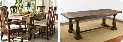 The Cortona Extending Dining Table From Pottery Barn