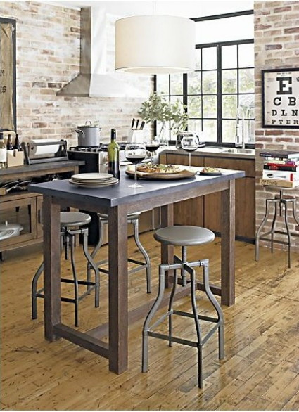 Knockout Knockoffs Crate and Barrel Kitchen Island Workspace