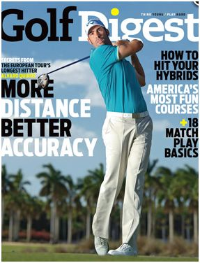 Golf Digest Magazine, Two Years for Only $7.99!