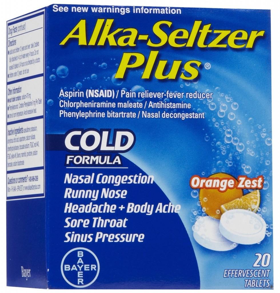 Alka-Seltzer Plus, as Low as $0.59 at Walgreens!