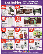 Babies R Us Black Friday Ad 2012
