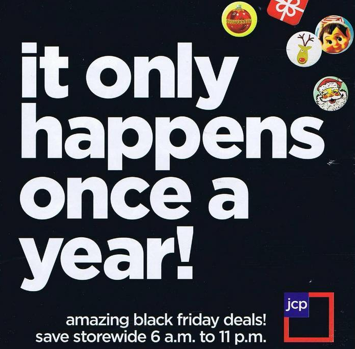 JCPenney Black Friday Ad 2012