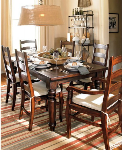 Knockout knockoffs pottery barn sumner dining table for Dining room tables pottery barn