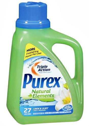 Purex Natural Elements Detergent 1 97 At Walmart The
