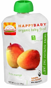 Organic Baby Food Coupons: HappyBaby and More, as Low as $0.52 at Target!
