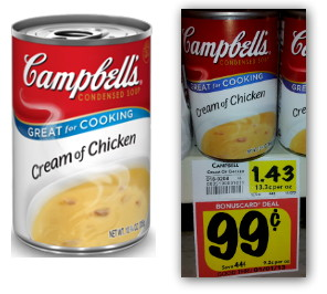 Campbell's Soup, Only $0.14 at BI-LO!