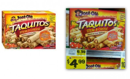 Jose Ole Taquitos or Mini Tacos, Only $1.99 at BI-LO!