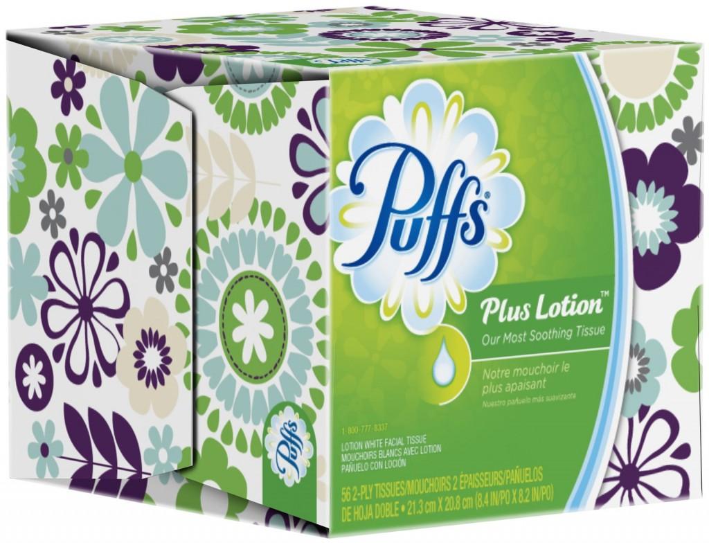 Puffs Facial Tissue, as Low as $0.70 at Walgreens!