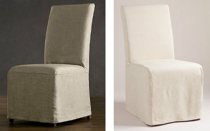 knockout knockoffs: luxury linen seating from restoration hardware