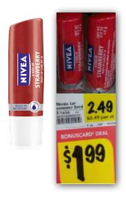 Nivea Lip Care, Only $0.49 at BI-LO!