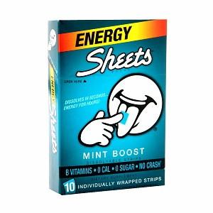 Better-than-Free Energy Sheets at Walgreens!