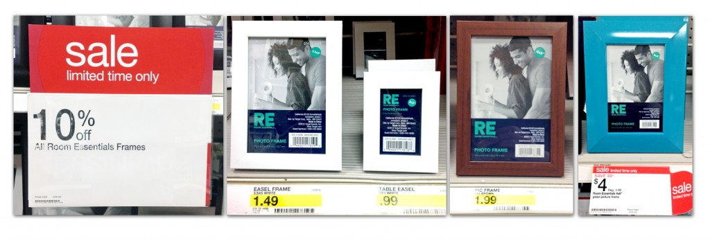 free re picture frames at target