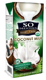 So Delicious Dairy Free Coconut Milk—Save $0.55 at Whole Foods!