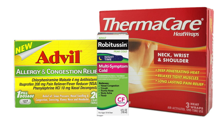 Advil, Robitussin and Thermacare Moneymakers at Target!