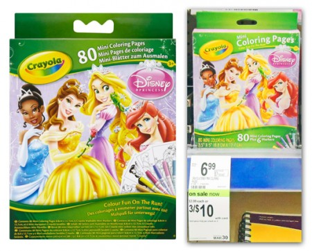 crayola disney coloring pages only 2 66 at walgreens the