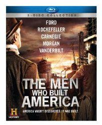The Men Who Built America on Blu-ray---Save 50% at Amazon!