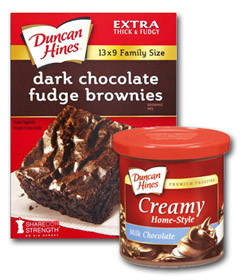 Duncan Hines Printable Coupon—Save on Brownie Mix & Frosting at Harris Teeter!