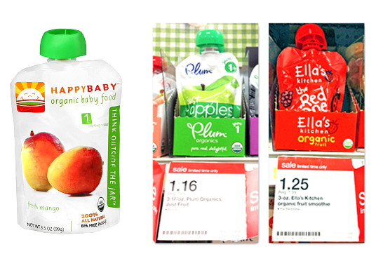 organic baby food sale—save over 50% at target! - the krazy