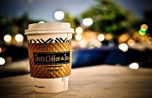 peet's coffee free small cup