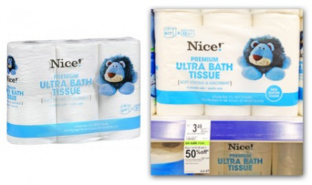 Nice! Brand Bath Tissue, Only $0.44 per Double Roll at Walgreens ...