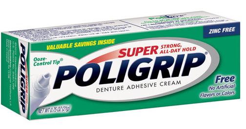 Super Poligrip Coupon, as Low as Free at Walgreens!