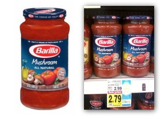 Kroger Catalina Deal---Save on Barilla Pasta Sauce!