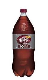 Dr. Pepper TEN, Only $0.45 at Kroger!
