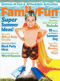 Family Fun Magazine, Only $3.99 per Year!