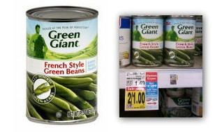 Free Green Giant Canned Vegetables at Kroger---No Coupons Needed!