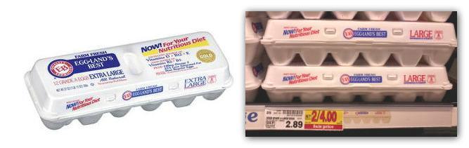 Organic Eggs kroger