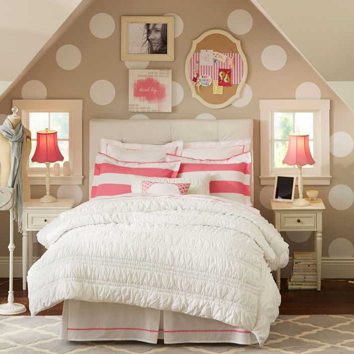 Knockout Knockoff: Pottery Barn Teen Bedroom - The Krazy ...
