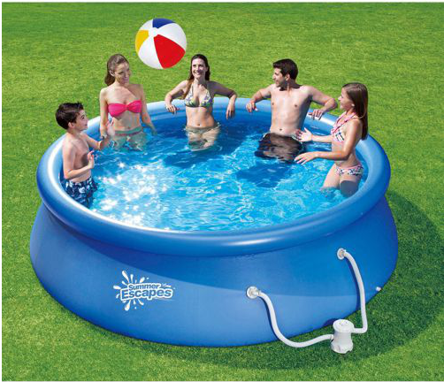 Quick Set Swimming Pool Only Shipped At Walmart The Krazy Coupon Lady
