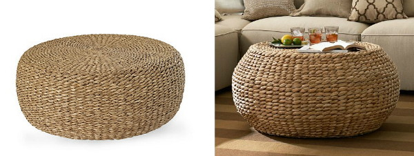 Knockout Knockoffs: Woven Coffee Table - Knockout Knockoffs: Woven Coffee Table - The Krazy Coupon Lady