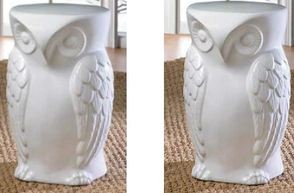 Add A Touch Of Whimsy To Your Space With This Wise Owl Ceramic Stool From  Amazon. It Is Perfect For Indoors Or Out And Measures 18 Inches Tall, ...