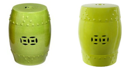 This bold Bongo Ceramic Garden Stool in chartreuse green pulls its design from traditional Chinese style. It is 18 inches tall perfect for a side table or ...  sc 1 st  The Krazy Coupon Lady & Knockout Knockoffs: Ceramic Garden Stools - The Krazy Coupon Lady islam-shia.org